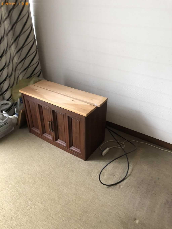 テレビ回収施工後