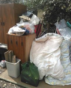 新居浜市で家具家電回収の写真