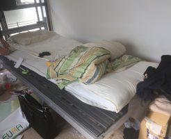 松山市緑町でベッドなど引っ越しに伴う不用品処分 施工事例紹介