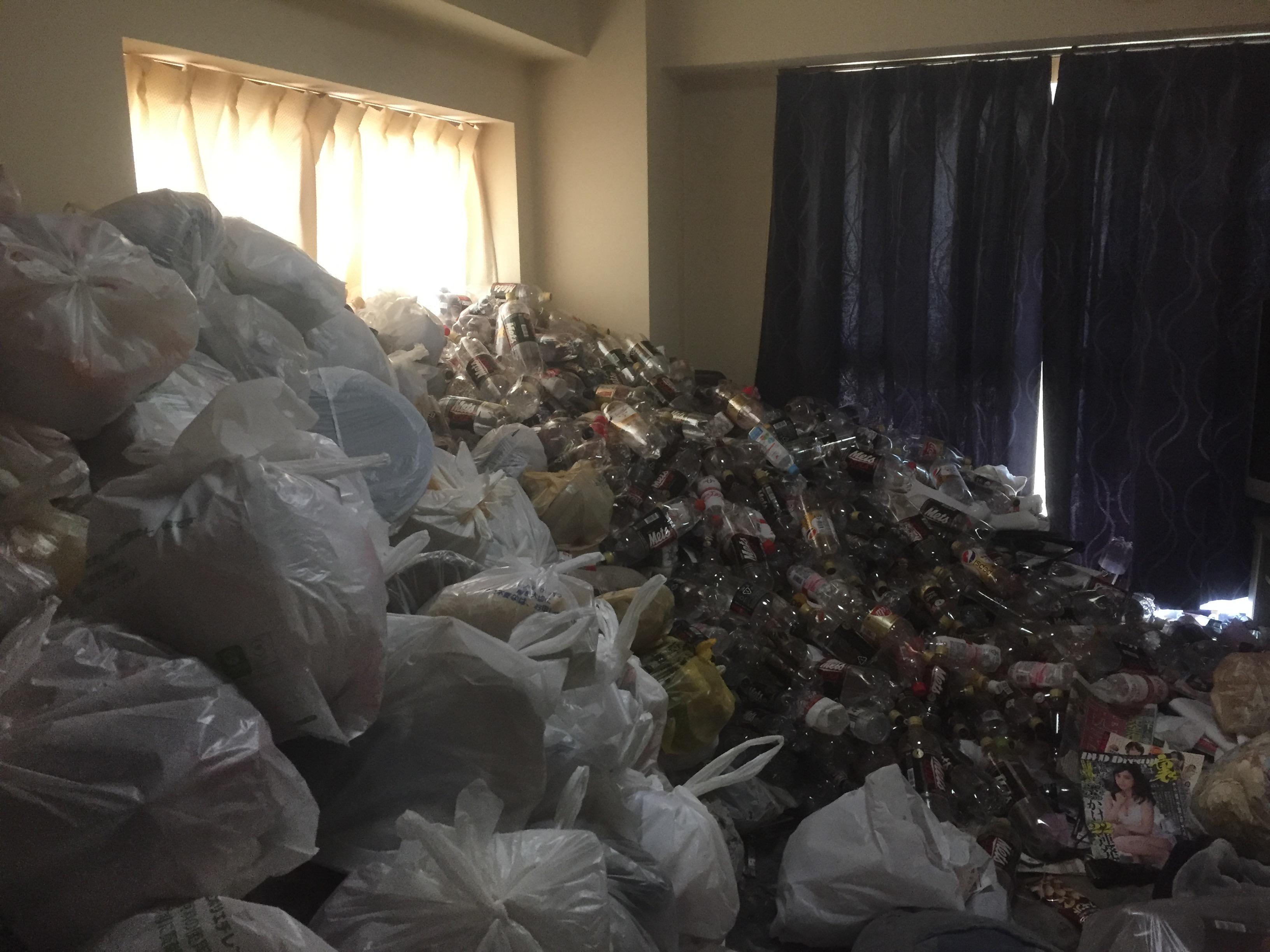 松山市福音寺町で2トントラック1台分程度の不用品処分 施工事例紹介