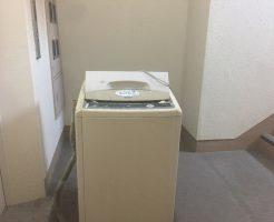 松山市平和通で洗濯機の回収 施工事例紹介