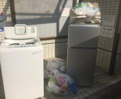 松山市宮西で軽トラ1台分程度の不用品処分 施工事例紹介