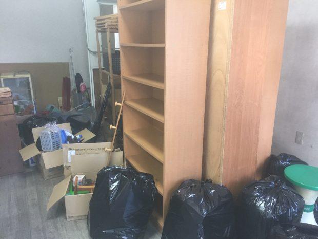 喜多郡内子町内子で棚など店舗へ移転に伴う不要品回収 施工事例紹介