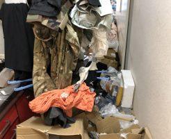 【松山市余戸中】息子の部屋がごみ屋敷で・・・。片付けとごみの回収で生活のできる空間が戻り、喜んでいただけました。