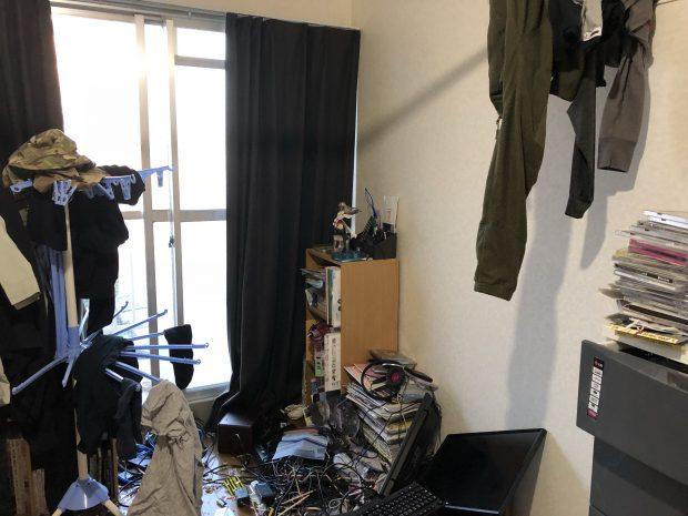 【奈良県川上村】息子の部屋がごみ屋敷で・・・。片付けとごみの回収で生活のできる空間が戻り、喜んでいただけました。