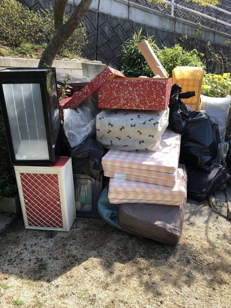 曽爾村にて不用品回収(整理タンス、布団)のご依頼 お客様の声