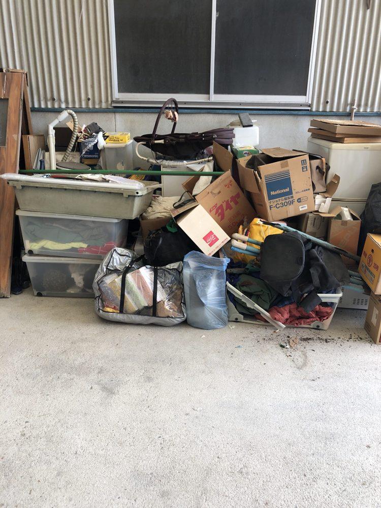 曽爾村にて不用品回収(170L未満冷蔵庫、洗濯機、メタルラック)のご依頼 お客様の声