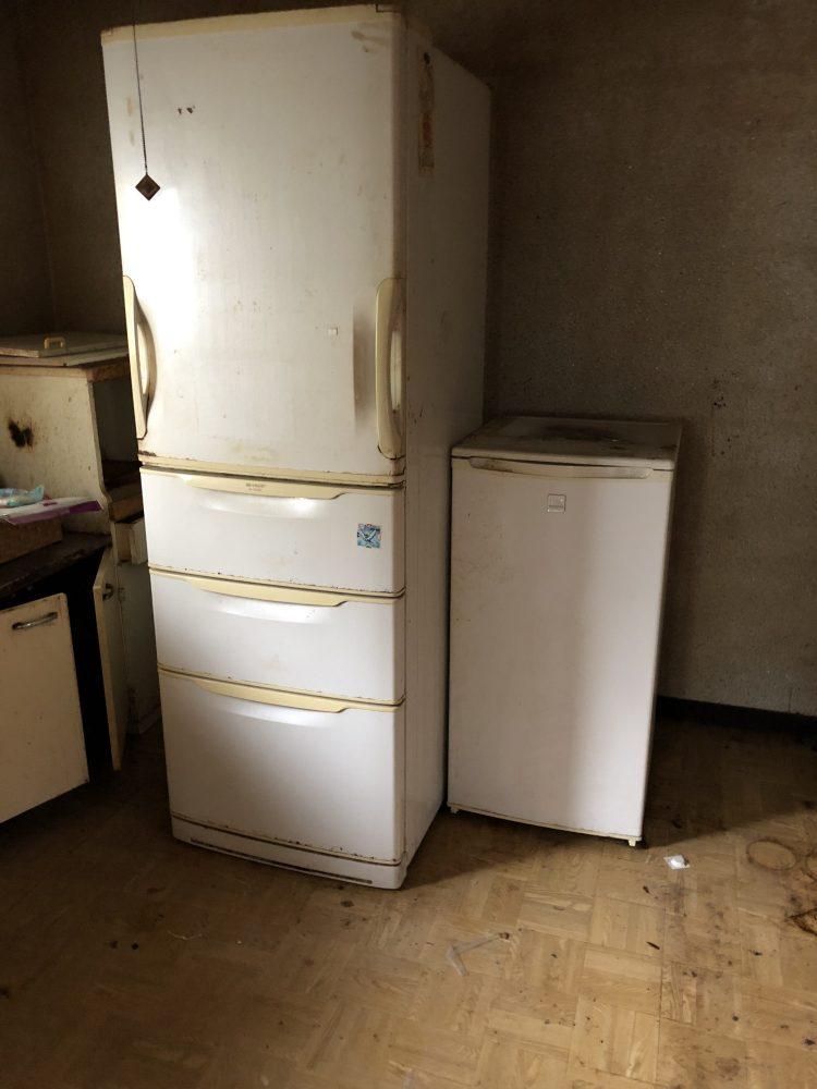 松山市にて遺品整理を伴う不用品回収(170L未満冷蔵庫、洗濯機、冷凍庫)のご依頼 お客様の声