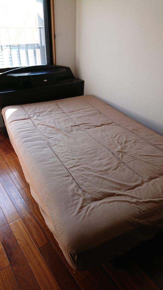 【大洲市西大洲】ベッド1点の回収☆予定が決まっていない状況でのお問い合わせでも対応でき、ご満足いただけました!