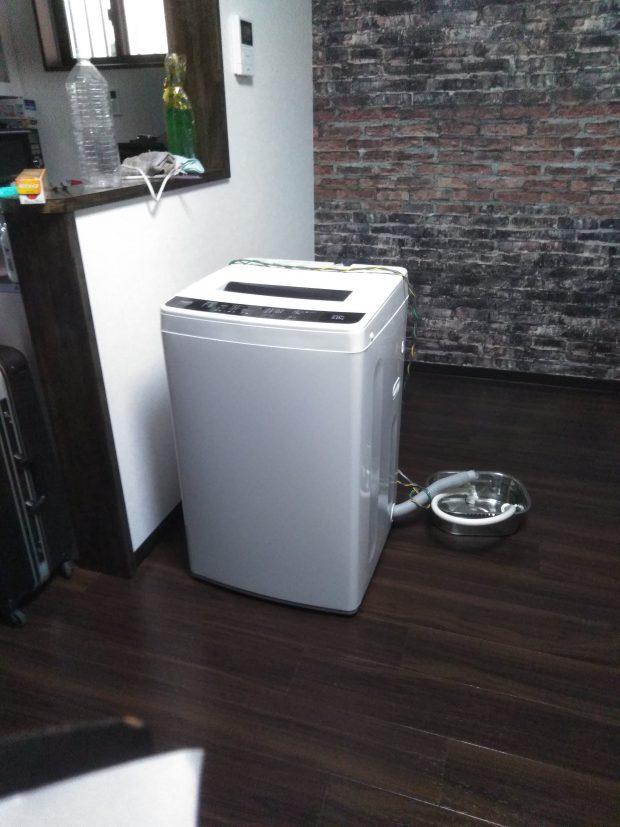 【松山市宮田町】洗濯機1点の回収☆前日の急なご依頼にもしっかりと対応することができご満足いただけました!