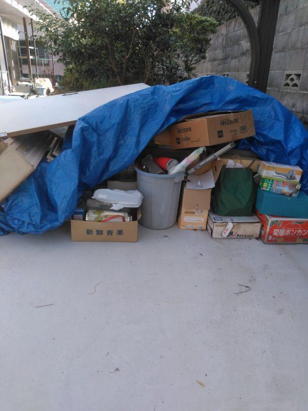 【松山市福角町】ブラウン管テレビなどの不用品回収☆回収費用の安さにお喜びいただけました!