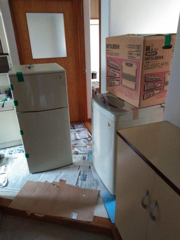 【今治市桜井】冷蔵庫、洗濯機など電化製品の回収☆ご希望日での対応や丁寧な対応にご満足いただけました!