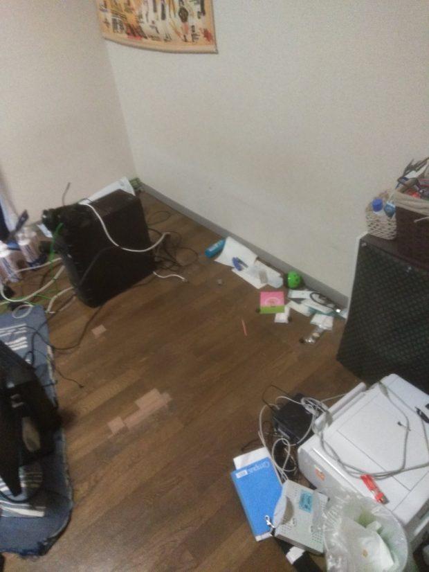 【松山市清水町】家財道具の回収☆どんなものでもまとめて捨てられるサービスにご満足いただけました!