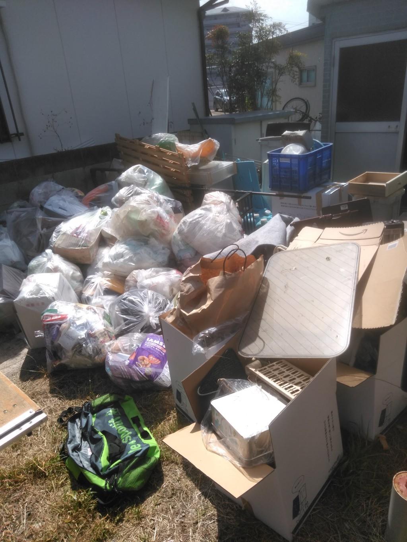 一軒家のお引っ越しに伴う片づけと不用品回収