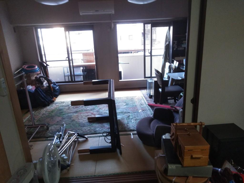 【松山市】転居に伴う家財・仏壇の片付けと処分☆柔軟な対応にご満足いただけました!