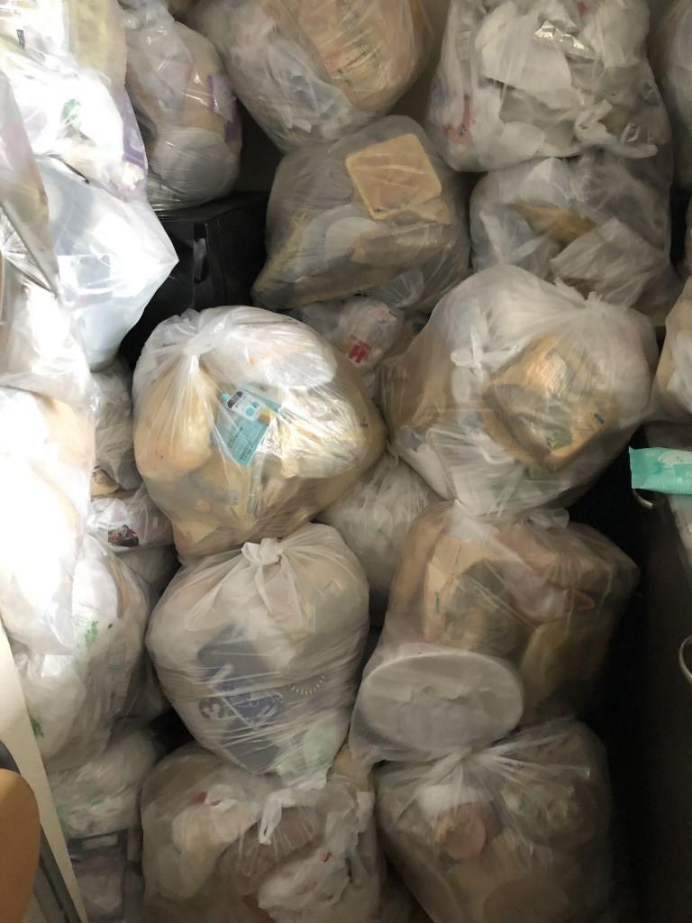 【川西町】大量の袋ゴミをゴミ捨て場まで移動する代行作業☆柔軟にご要望通りの対応ができご満足頂けました。
