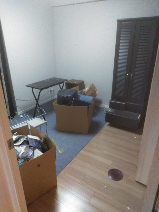 【上牧町】お引っ越しに伴う大量の不用品回収☆お引っ越しの準備が短時間で終わりご満足いただけたようです。
