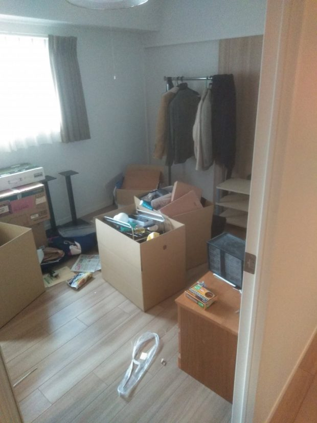 【今治市東門町】お引っ越しに伴う大量の不用品回収☆お引っ越しの準備が短時間で終わりご満足いただけたようです。