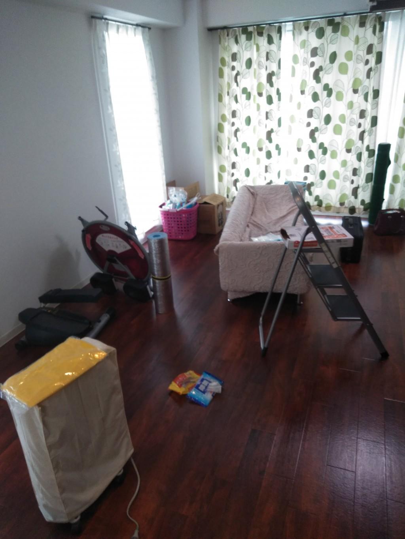 【松山市】引っ越しに伴う2tトラック積み放題パックでの不用品回収☆お部屋が綺麗さっぱり片付きました!