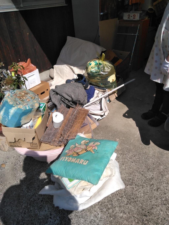 【今治市大西町】積み放題パックでの回収☆何でも回収してくれる対応力にお喜びいただけました!