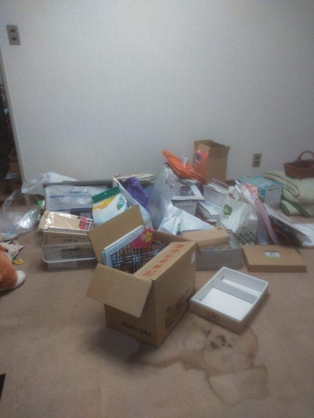 【松山市】お引っ越しに伴う不用品の回収☆不用品の追加や、迅速な対応などに大変喜んでいただけました!