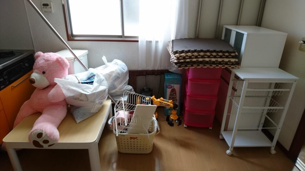 【松山市西垣生町】食器棚やソファーなど不用品回収・処分ご依頼