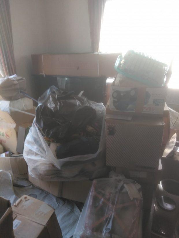 【松山市南斎院町】冷蔵庫や洗濯機など2トントラック1台程度の不用品回収☆スピーディーな対応に大変喜んでいただけました!