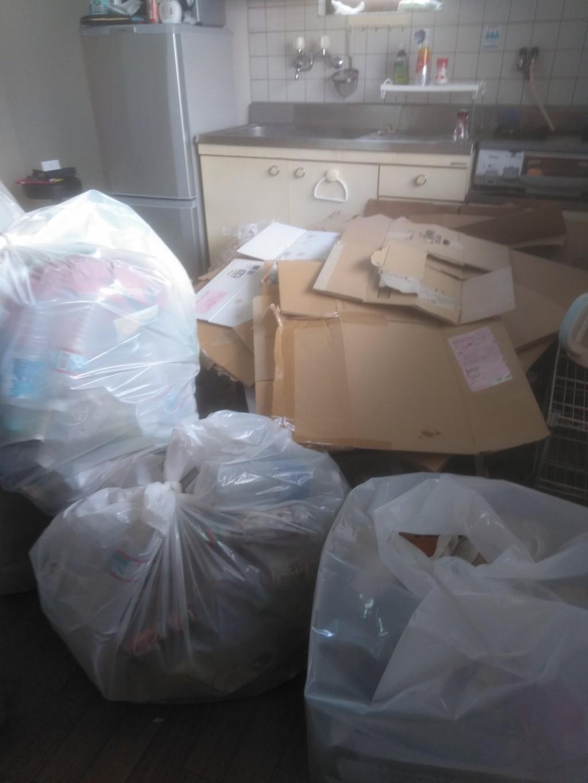 【天理市】家庭ゴミやペットボトルの不用品回収ご依頼 お客様の声