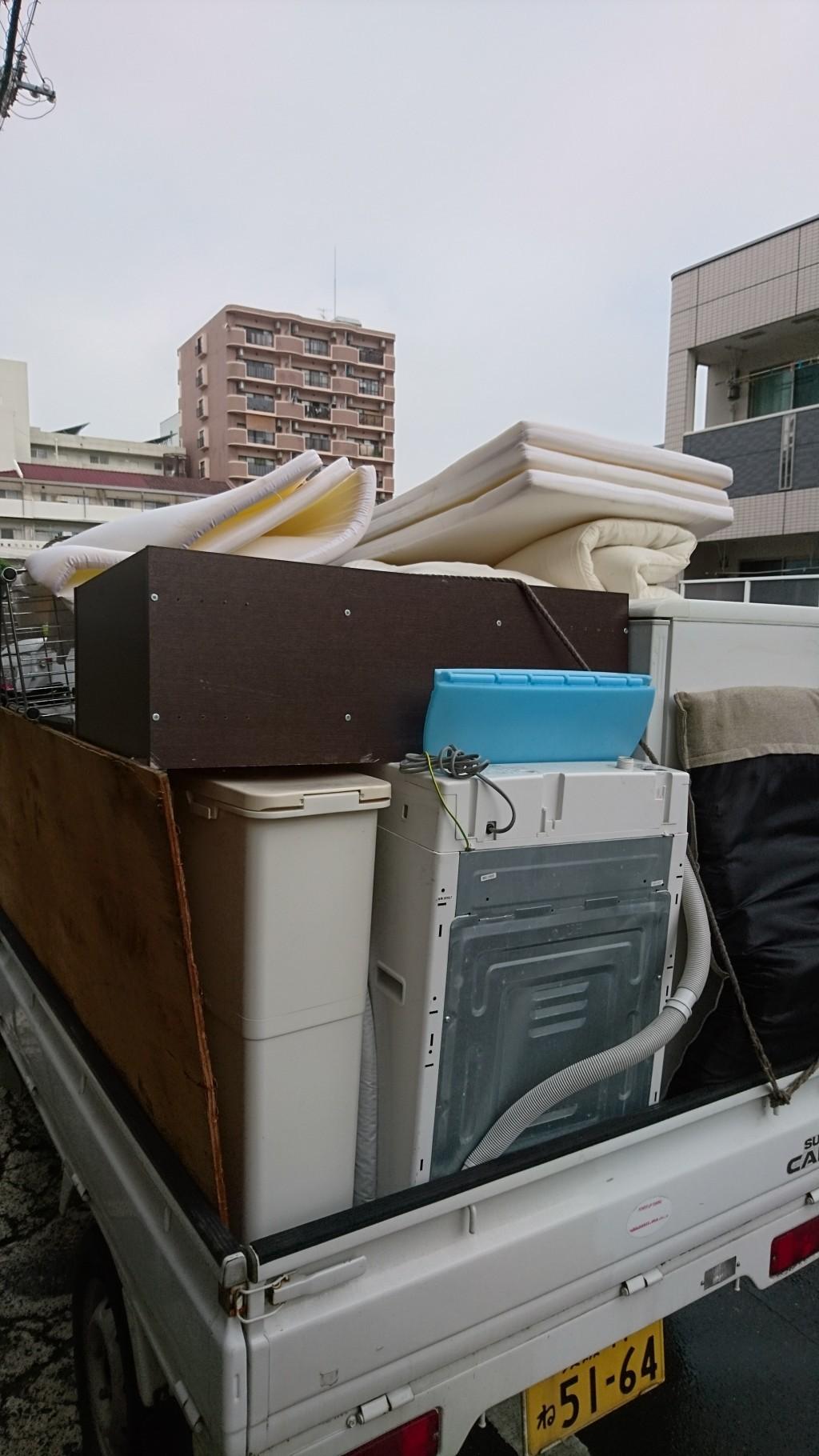 【松山市清水町】大量の家財道具の回収 お客様の声
