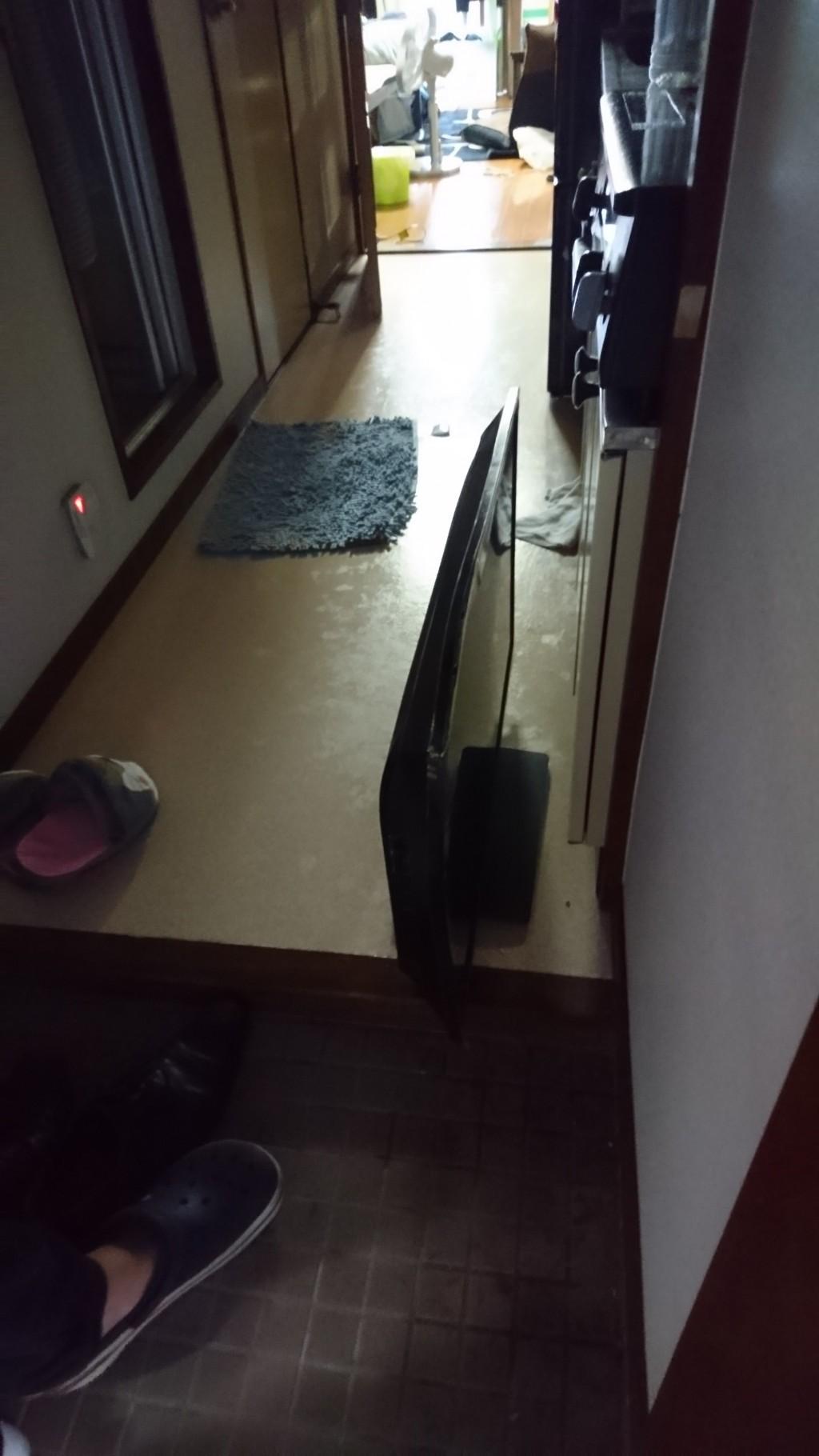 【松山市】壊れたテレビの回収・処分ご依頼 お客様の声