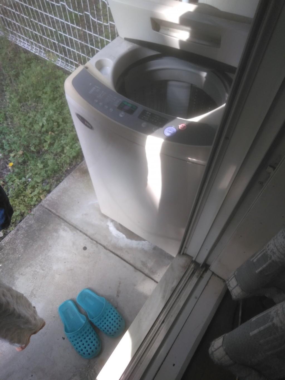 【松山市鷹子町】洗濯機一点の回収 お客様の声