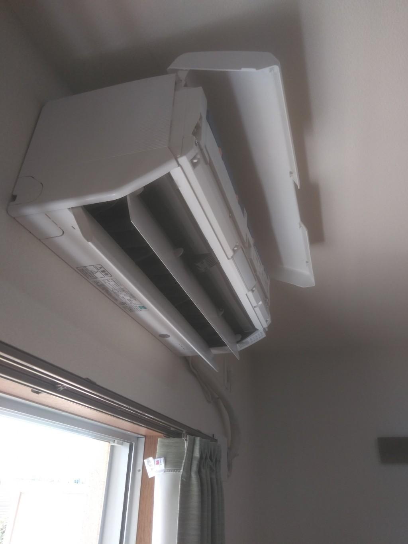 【松山市南梅本町】エアコンの取り外しと回収処分ご依頼 お客様の声