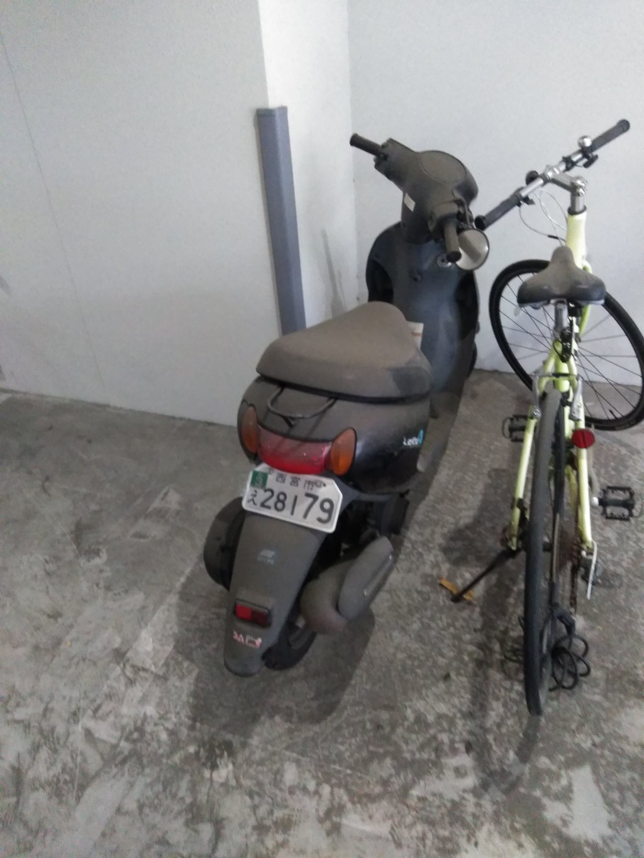 【松山市】原付バイクの回収 お客様の声