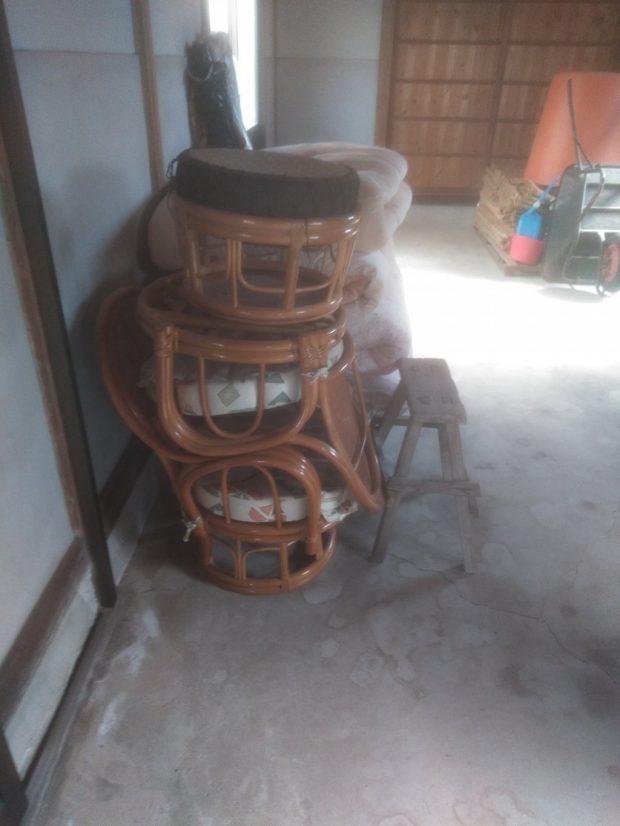 【伊予郡松前町】廃材、椅子などの回収 お客様の声