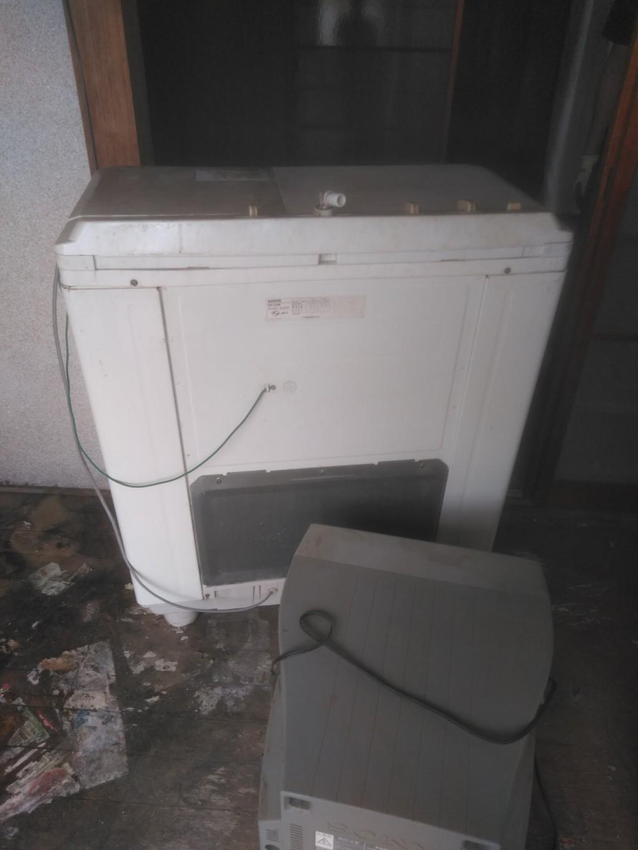 【今治市八町】エアコン取り外しと不用品回収処分ご依頼 お客様の声