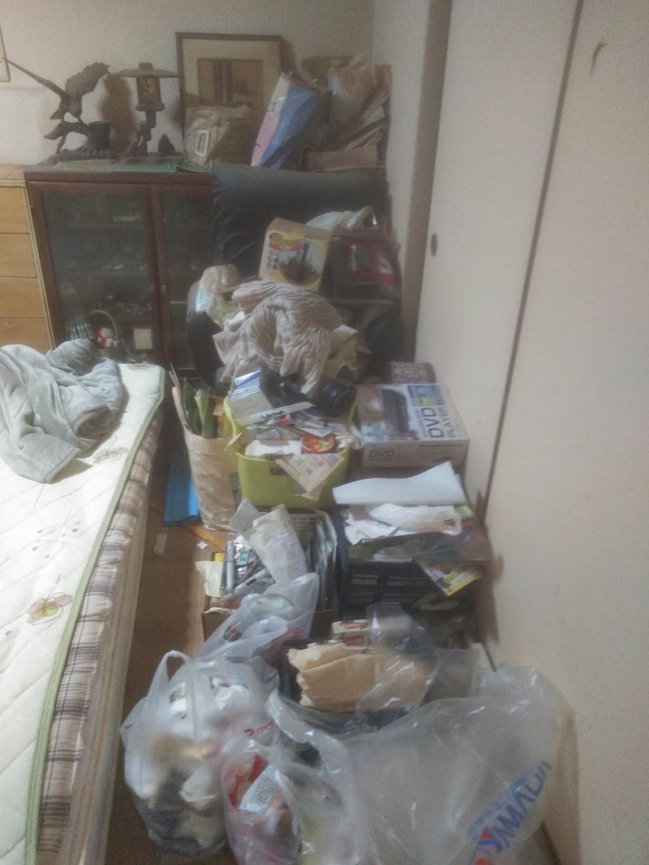 【松山市】部屋の片づけで出たゴミ1t分の回収・処分 お客様の声