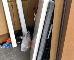【東温市】セミダブルベッドの出張不用品回収・処分ご依頼