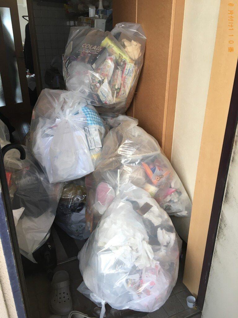 【松山市祇園町】家庭ごみ回収のご依頼 お客様の声