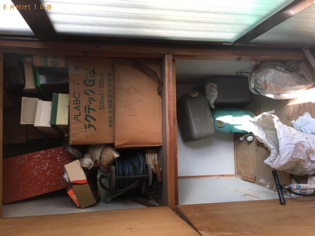 【松山市】2tトラック1台程度の不用品回収処分 お客様の声