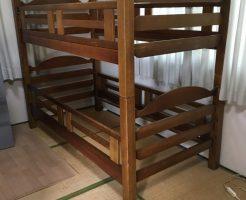 【松前町】2段ベッドの枠と学習机回収のご依頼 お客様の声