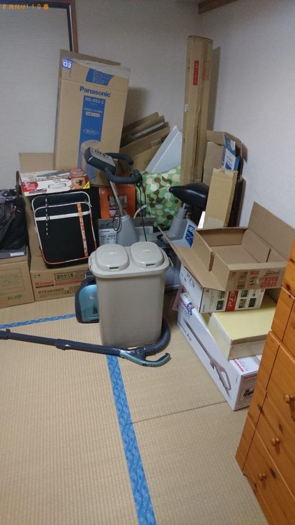 【大紀町】家庭ゴミなどの不用品回収・処分ご依頼 お客様の声
