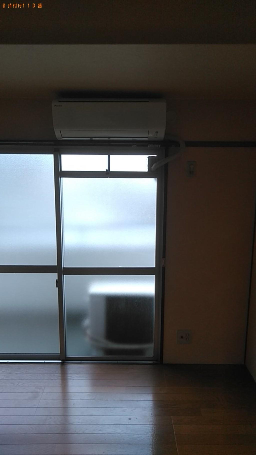 【松山市福音寺町】エアコンの取り外し回収・処分ご依頼 お客様の声