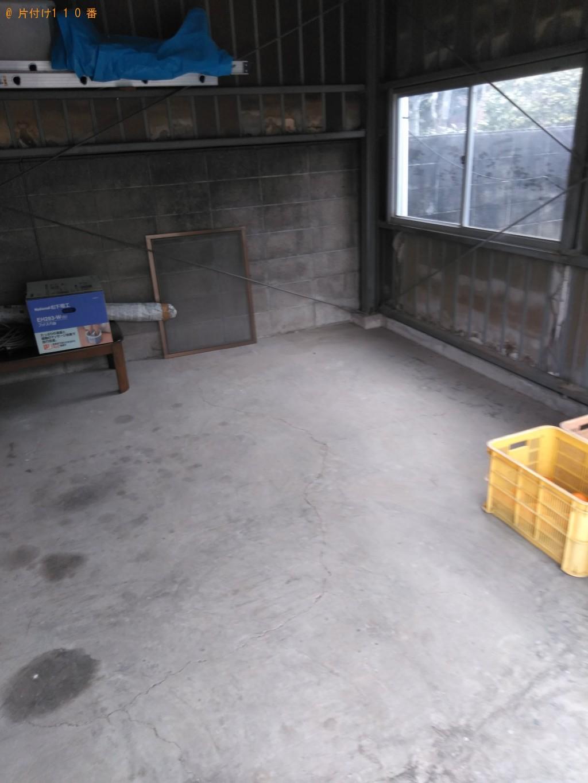 【松山市】マットレス、食器棚、自転車等の回収・処分 お客様の声