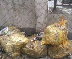 【松山市三番町】生活ゴミの片付け、回収・処分ベランダの掃除ご依頼