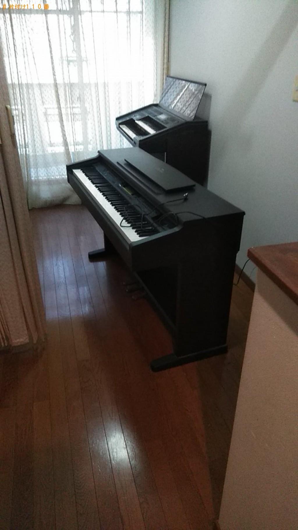 【松山市安城寺町】電子ピアノの回収・処分 お客様の声