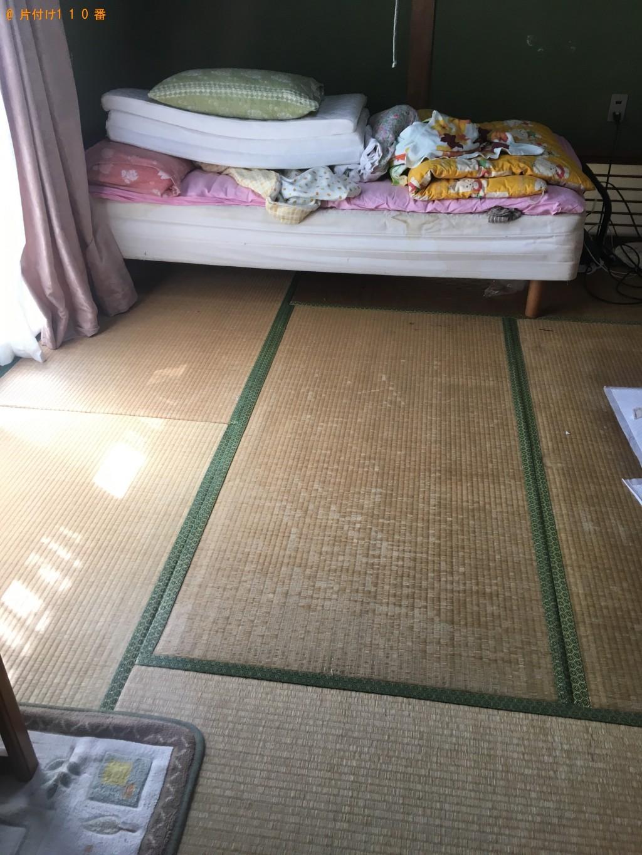 【松山市】脚付きベッドマットレス1点の回収・処分 お客様の声