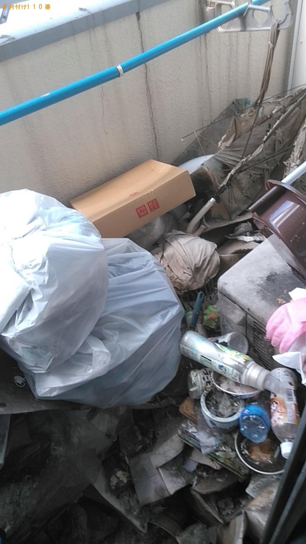 【松山市】物干しざお、植木鉢、家庭ごみ等の回収・処分 お客様の声
