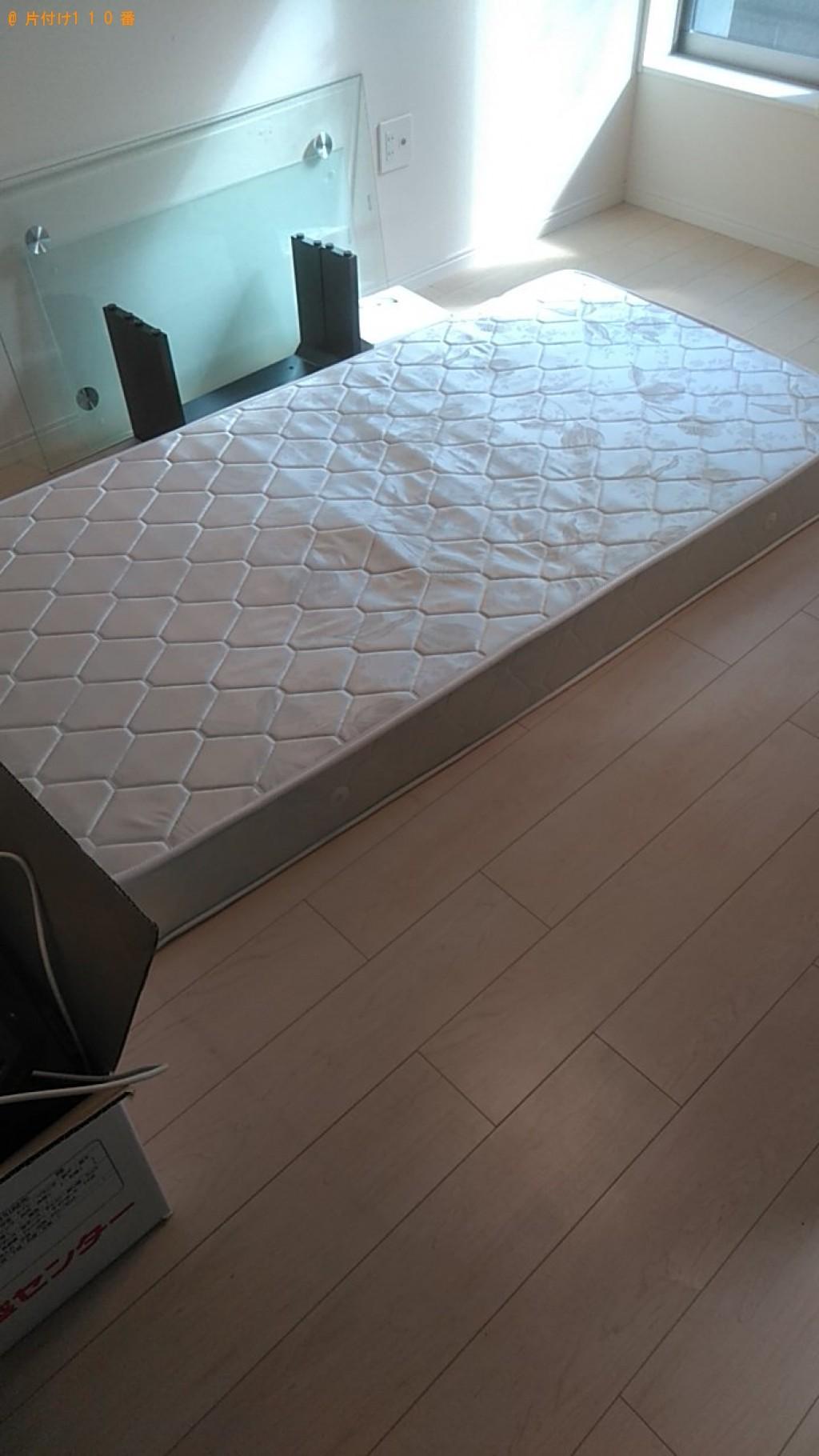 【松山市】シングルベッドマットレス1点の回収・処分 お客様の声