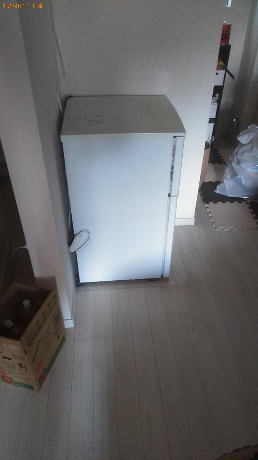 【松山市山西町】ベッド、冷蔵庫の処分ご依頼 お客様の声