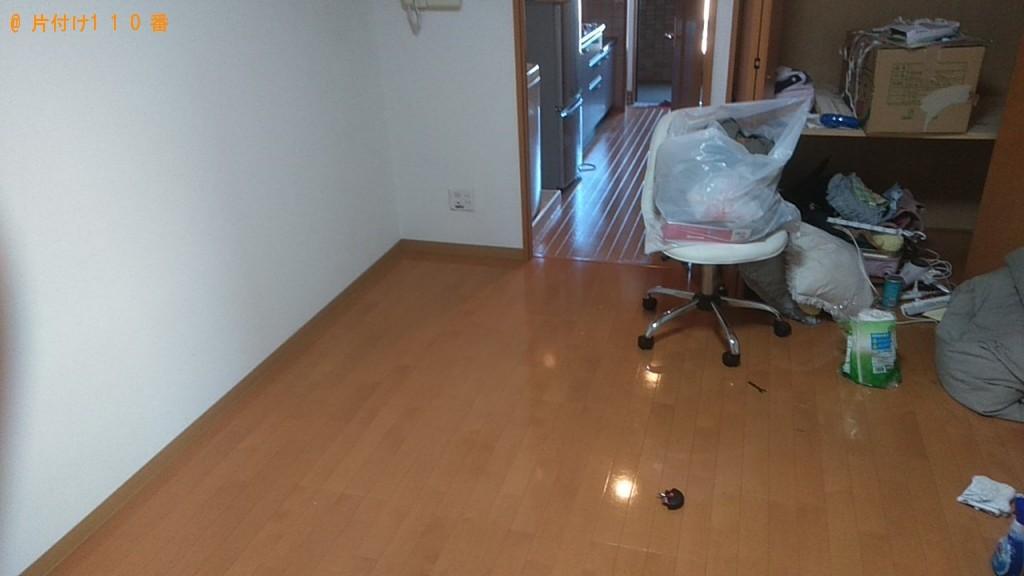 【松山市】シングルベッド、スタンドミラー、扇風機等の回収・処分 お客様の声